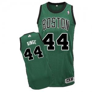 Boston Celtics Danny Ainge #44 Alternate Authentic Maillot d'équipe de NBA - Vert (No. noir) pour Homme