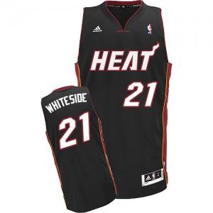 Maillot Swingman Miami Heat NBA Road Noir - #21 Hassan Whiteside - Homme