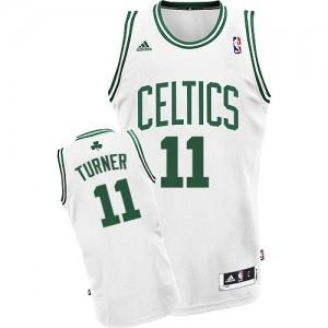 Maillot NBA Swingman Evan Turner #11 Boston Celtics Home Blanc - Homme