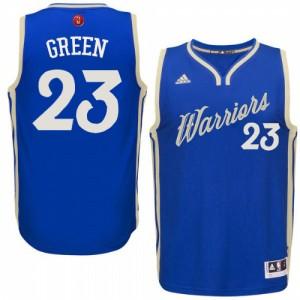 Maillot NBA Swingman Draymond Green #23 Golden State Warriors 2015-16 Christmas Day Bleu royal - Homme