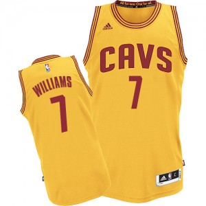 Maillot NBA Authentic Mo Williams #7 Cleveland Cavaliers Alternate Or - Homme