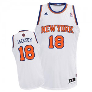 Maillot Swingman New York Knicks NBA Home Blanc - #18 Phil Jackson - Homme