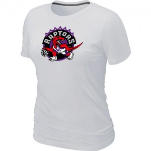 T-Shirts NBA Blanc Toronto Raptors Big & Tall Femme