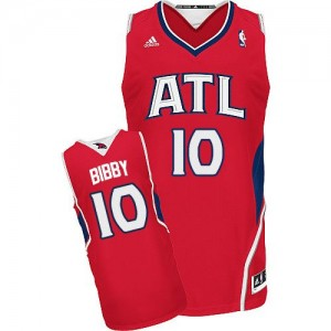 Maillot Swingman Atlanta Hawks NBA Alternate Rouge - #10 Mike Bibby - Homme