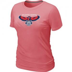 Atlanta Hawks Big & Tall Rose T-Shirts d'équipe de NBA vente en ligne - pour Femme