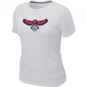 Atlanta Hawks Big & Tall Blanc T-Shirts d'équipe de NBA Vente pas cher - pour Femme
