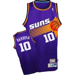 Maillot Authentic Phoenix Suns NBA Throwback Violet - #10 Leandro Barbosa - Homme