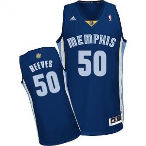 Memphis Grizzlies Bryant Reeves #50 Road Swingman Maillot d'équipe de NBA - Bleu marin pour Homme