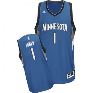 Maillot Swingman Minnesota Timberwolves NBA Road Slate Blue - #1 Tyus Jones - Homme