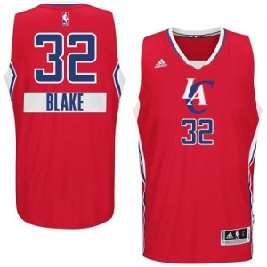 Maillot Adidas Rouge 2014-15 Christmas Day Swingman Los Angeles Clippers - Blake Griffin #32 - Homme