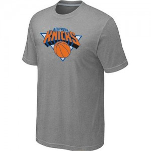 T-Shirts NBA New York Knicks Big & Tall Gris - Homme