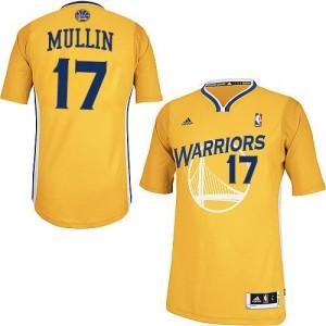 Golden State Warriors Chris Mullin #17 Alternate Swingman Maillot d'équipe de NBA - Or pour Homme
