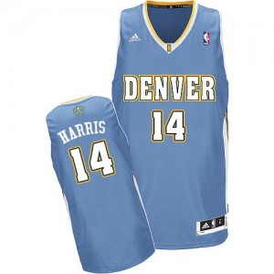 Maillot NBA Swingman Gary Harris #14 Denver Nuggets Road Bleu clair - Homme