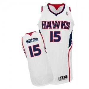 Atlanta Hawks #15 Adidas Home Blanc Authentic Maillot d'équipe de NBA Soldes discount - Al Horford pour Homme