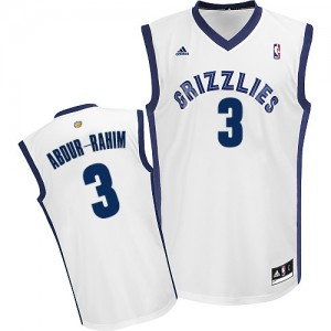 Maillot NBA Swingman Shareef Abdur-Rahim #3 Memphis Grizzlies Home Blanc - Homme