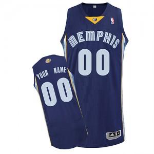 Maillot Memphis Grizzlies NBA Road Bleu marin - Personnalisé Authentic - Homme