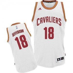 Maillot NBA Swingman Richard Jefferson #18 Cleveland Cavaliers Home Blanc - Homme