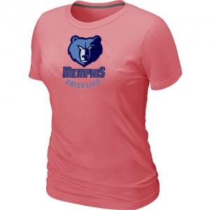 Memphis Grizzlies Big & Tall T-Shirts d'équipe de NBA - Rose pour Femme
