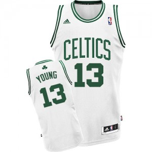Maillot NBA Swingman James Young #13 Boston Celtics Home Blanc - Homme