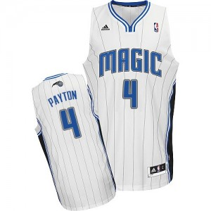 Maillot NBA Swingman Elfrid Payton #4 Orlando Magic Home Blanc - Homme