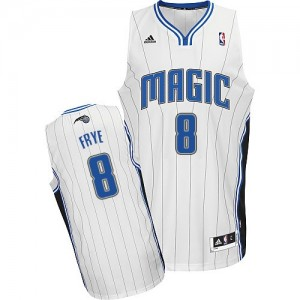 Maillot NBA Swingman Channing Frye #8 Orlando Magic Home Blanc - Homme