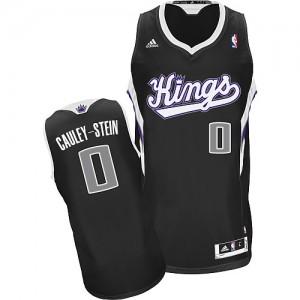 Sacramento Kings #0 Adidas Alternate Noir Swingman Maillot d'équipe de NBA magasin d'usine - Willie Cauley-Stein pour Homme