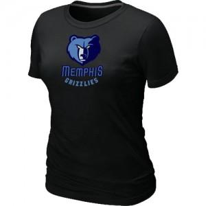 Memphis Grizzlies Big & Tall T-Shirts d'équipe de NBA - Noir pour Femme