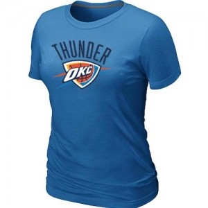 T-Shirts NBA Oklahoma City Thunder Bleu clair Big & Tall - Femme