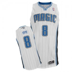 Maillot NBA Authentic Channing Frye #8 Orlando Magic Home Blanc - Homme