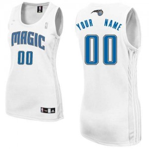 Maillot NBA Authentic Personnalisé Orlando Magic Home Blanc - Femme