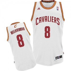 Maillot NBA Swingman Matthew Dellavedova #8 Cleveland Cavaliers Home Blanc - Homme