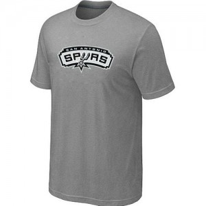 T-Shirts NBA San Antonio Spurs Gris Big & Tall - Homme