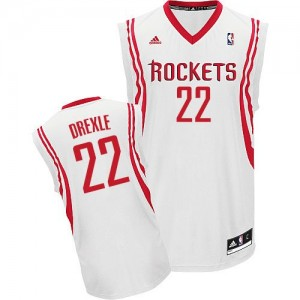 Maillot Swingman Houston Rockets NBA Home Blanc - #22 Clyde Drexler - Homme