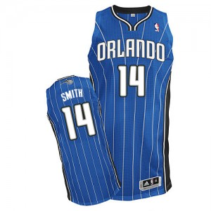 Maillot NBA Authentic Jason Smith #14 Orlando Magic Road Bleu royal - Homme