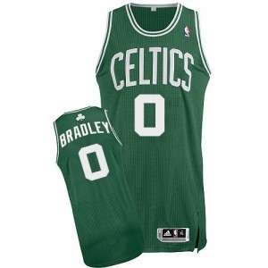 Maillot Adidas Vert (No Blanc) Road Authentic Boston Celtics - Avery Bradley #0 - Homme