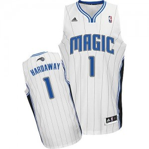 Maillot NBA Orlando Magic #1 Penny Hardaway Blanc Adidas Swingman Home - Homme