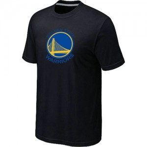 T-shirt principal de logo Golden State Warriors NBA Big & Tall Noir - Homme