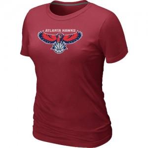 Atlanta Hawks Big & Tall Rouge T-Shirts d'équipe de NBA Peu co?teux - pour Femme