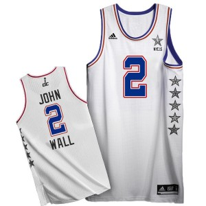 Maillot Swingman Washington Wizards NBA 2015 All Star Blanc - #2 John Wall - Homme