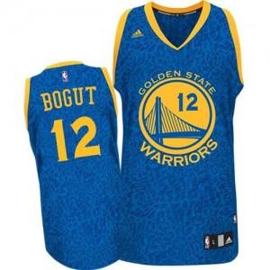 Maillot Adidas Bleu Crazy Light Swingman Golden State Warriors - Andrew Bogut #12 - Homme