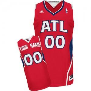 Atlanta Hawks Swingman Personnalisé Alternate Maillot d'équipe de NBA - Rouge pour Enfants