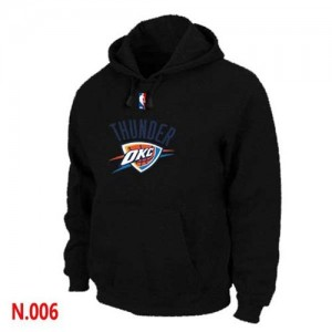 Sweat à capuche NBA Noir Oklahoma City Thunder Homme