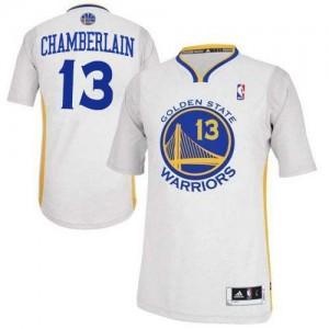 Golden State Warriors #13 Adidas Alternate Blanc Authentic Maillot d'équipe de NBA en soldes - Wilt Chamberlain pour Homme