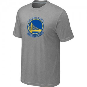 T-shirt principal de logo Golden State Warriors NBA Big & Tall Gris - Homme