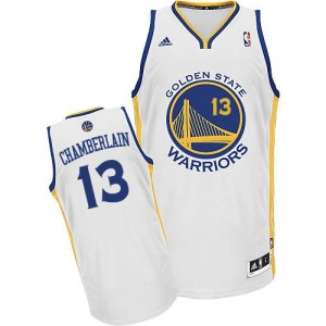 Maillot Swingman Golden State Warriors NBA Home Blanc - #13 Wilt Chamberlain - Homme