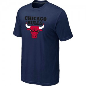 T-shirt à manches courtes Chicago Bulls NBA Big & Tall Marine - Homme