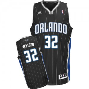 Orlando Magic C.J. Watson #32 Alternate Swingman Maillot d'équipe de NBA - Noir pour Homme