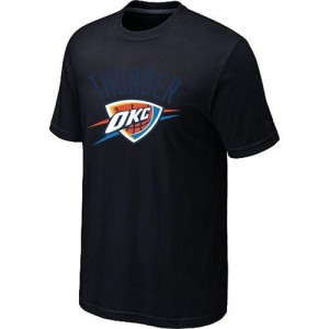 T-Shirts NBA Oklahoma City Thunder Big & Tall Noir - Homme