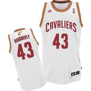 Maillot Swingman Cleveland Cavaliers NBA Home Blanc - #43 Brad Daugherty - Homme