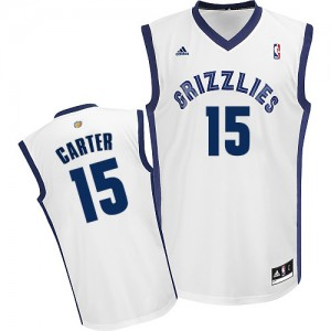 Maillot NBA Swingman Vince Carter #15 Memphis Grizzlies Home Blanc - Homme